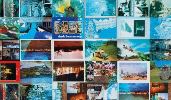 1120 postales turísticas sometidas a degradación de tintas litográficas por exposición solar