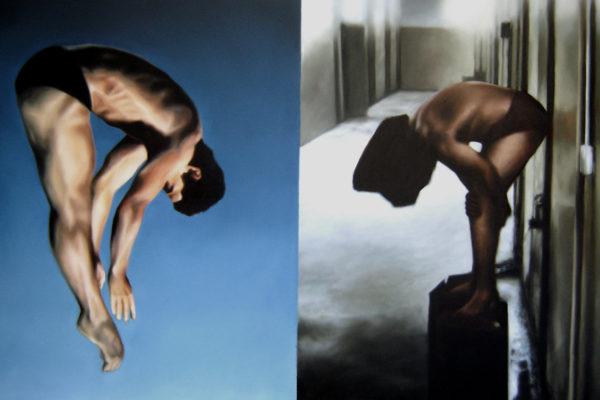 Oleo sobre tela /180 x 110 cm / 2007