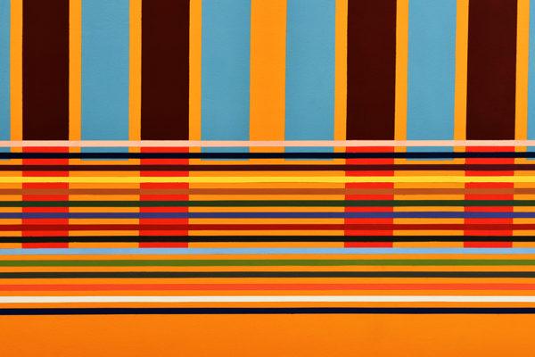 INDICADORES (detalle) Vinilo sobre pared / 850 x 415 cm