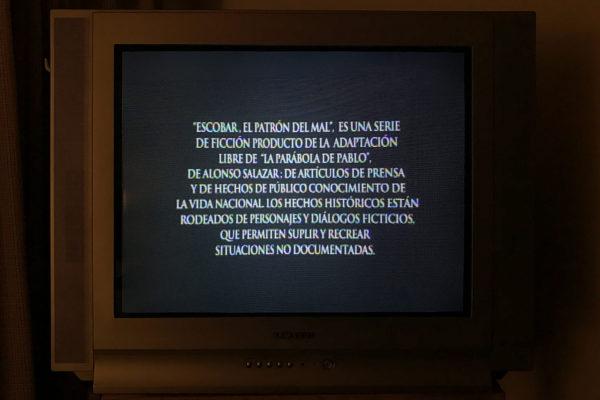 Advertencia / Video Mono canal sin audio / 4:43 minutos / 2017